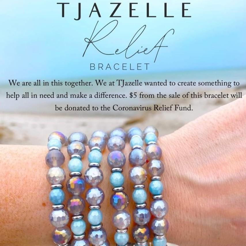 T. Jazelle Coronavirus Relief Bracelets