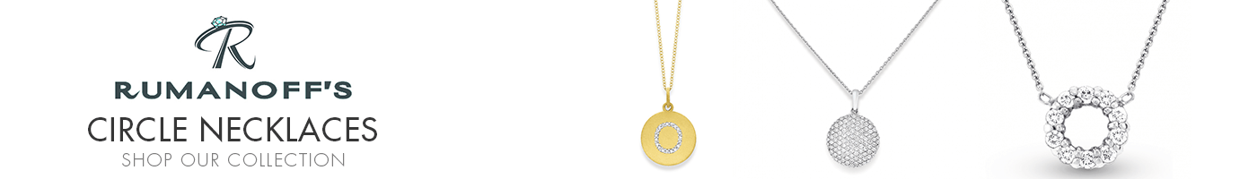 Circle Necklaces at Rumanoff's Jewelers