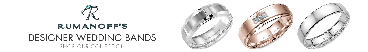 Wedding Band Designers at Rumanoff's Jewelers